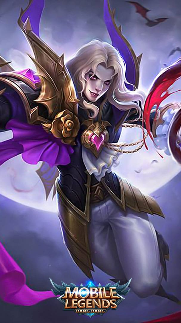 Wallpaper Lancelot Dark Earl Skin Mobile Legends HD for Android and iOS