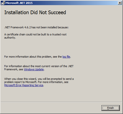 dot net framework 4.6 2 download offline installer