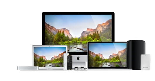 Transcend Offers Full Range of Upgrade Solutions for Mac Computers