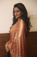 Udaya Bhanu lookssizzling in a Saree Choli at Gautam Nanda music launchi ~ Exclusive Celebrities Galleries 133.JPG