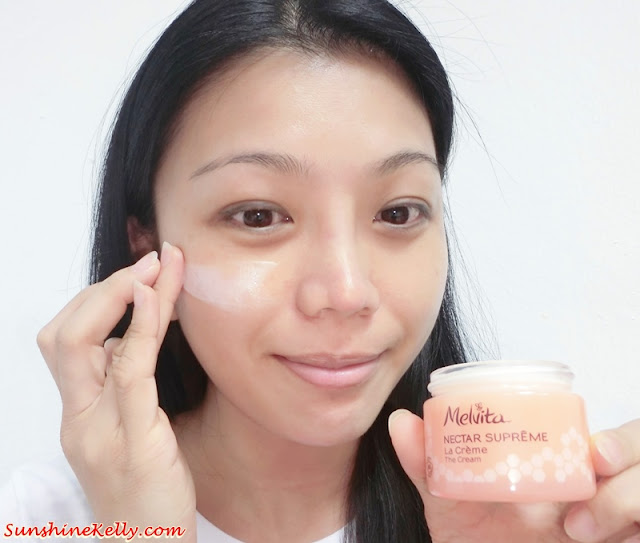 Melvita Nectar Supreme Experience, Melvita Malaysia, Melvita nectar supreme the cream, Melvita Nectar Supreme The Eye & Lip Contour Cream, The Secret of Kniphofia, royal Jelly, the secret of youthful skin