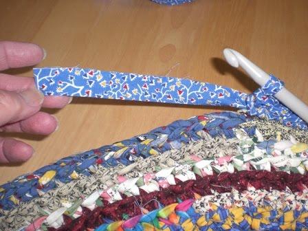 Crocheted Rag Rug Tutorial Part Four