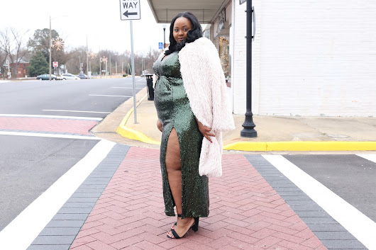 Eclectic Kurves & Simply Curvy's Holiday Lookbook: Date Night Glam