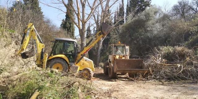 Ευχαριστήριο προς τον Αντιπεριφερειάρχη Αργολίδας για τον καθαρισμό των ρεμάτων στην Κοινότητα Μαλαντρενίου