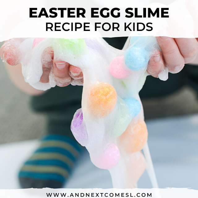 How to make Easter slime