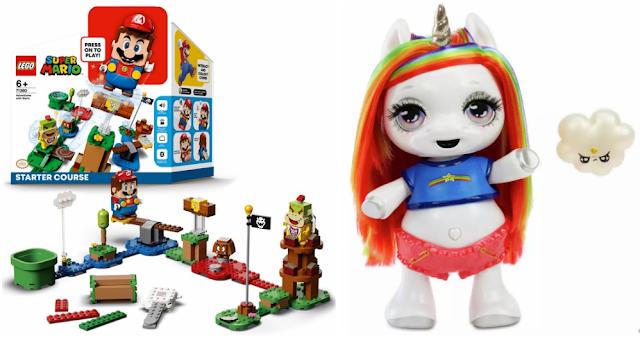 Mario Lego and Poopsie Dancing Unicorn