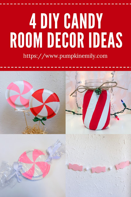 4 DIY Candy Room Decor Ideas