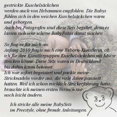 Basti Bären Baby Kuschelsack