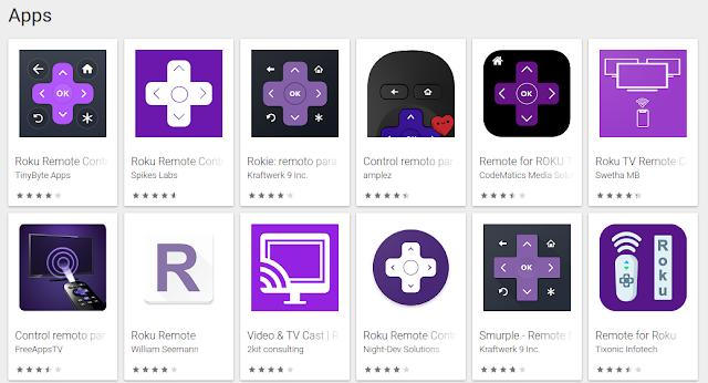 Controles Remotos Roku Terceros Google Play