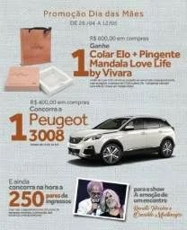 Promoção Dia das Mães 2019 Ribeirão Shopping Concorra Carro 0KM Peugeot