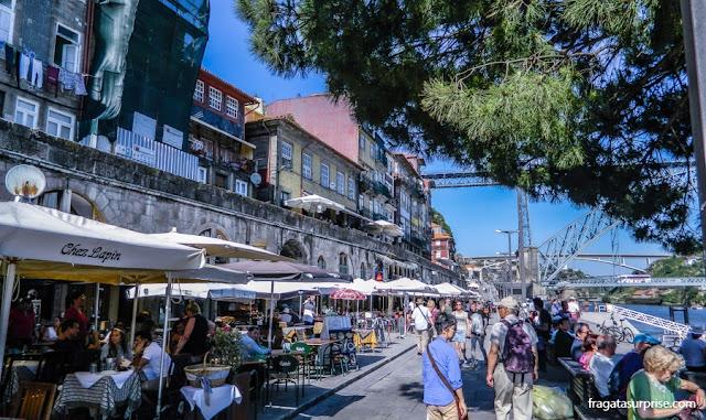 Comer no Porto, Portugal: Restaurante Chez Lapin, no Cais da Ribeira