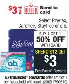 Stayfree cvs deal
