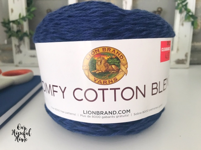 Lion Brand Comfy Comfort Color yarn