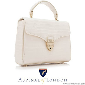 Kate Middleton carried Aspinal Of London Midi Mayfair Bag