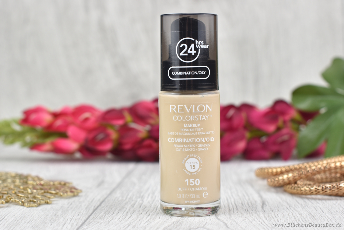 REVLON - Colorstay Foundation - 150 Buff - Review & Swatches