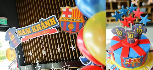Tổ chức sinh nhật cho bé theo chủ đề thể thao