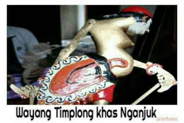Wayang Timplong asli Nganjuk