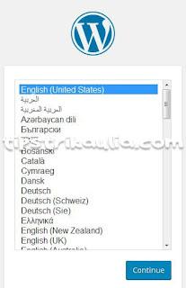 Cara menginstall wordpress custom dengan localhost