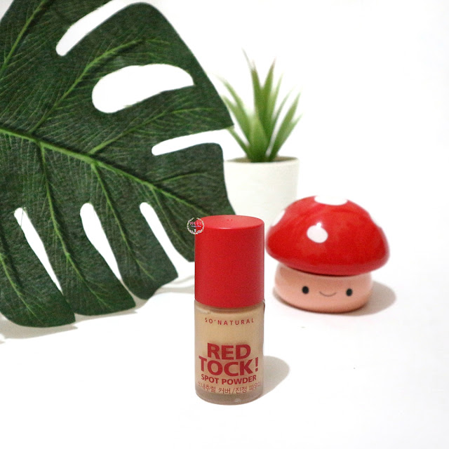 So Natural Red Tock Spot Powder Packaging