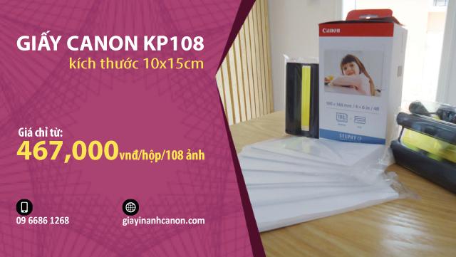 giấy canon kp108