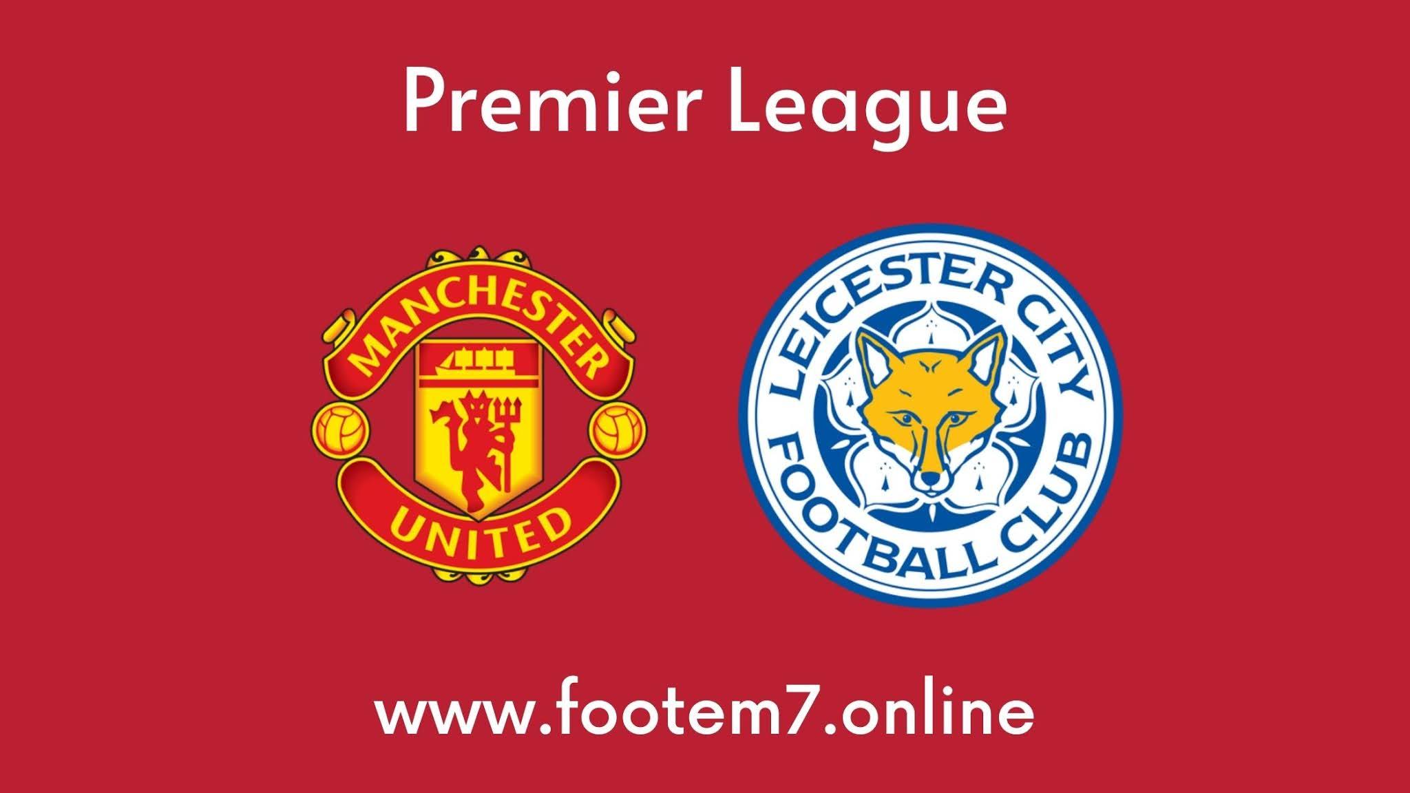 Man United vs Leicester City Premier League R36