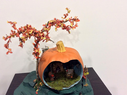 Pumpkin Fairy House, Giveaway Winnings & Gifts