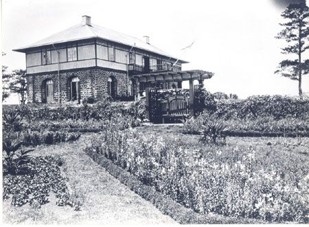 The original look of Baguio's Mansion House as bahay na bato