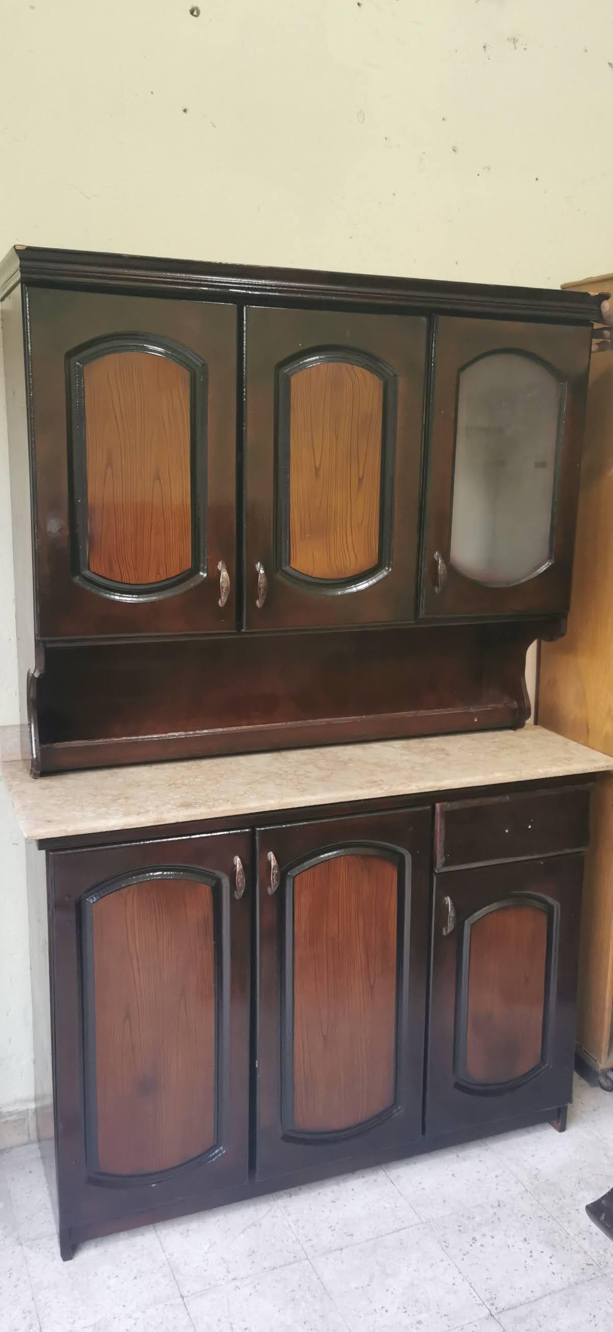 مطبخ خشب مستعمل للبيع 1