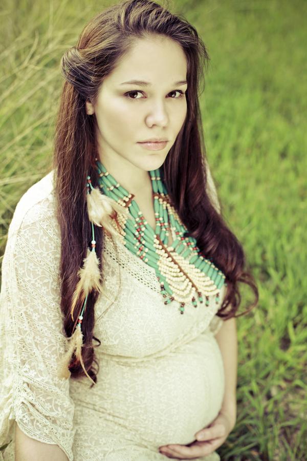 Native American Pregnant 26