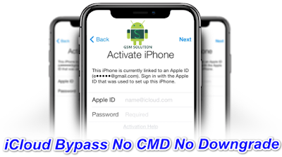 13.3.1 & 13.3 iCloud Bypass Latest Tool One Click Bypass ( No Downgrade-No CMD) For Windows Pc.