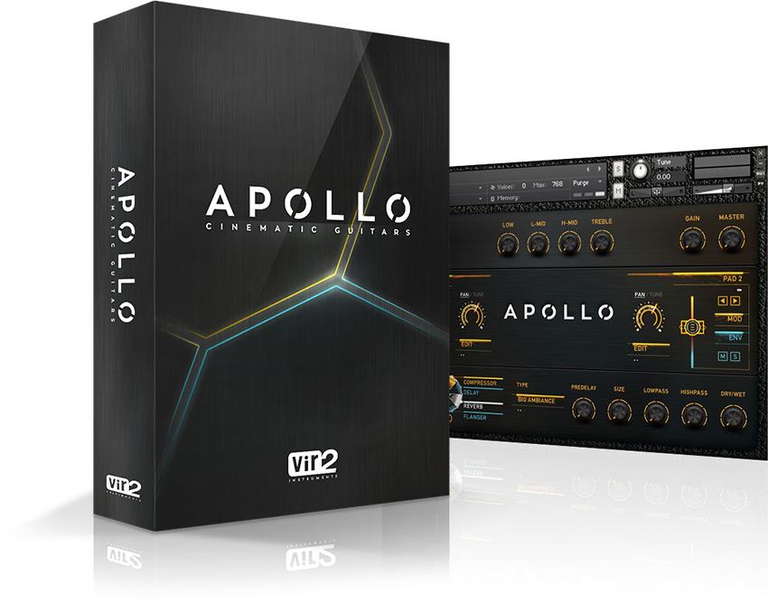 Apollo Cinematic Guitars - Livraria para Kontakt