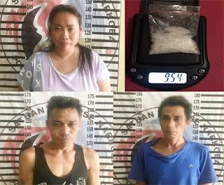 Polisi Tangkap Tiga Bandar Narkotika, AKBP Andy : 9,54 Gram Narkotika Disita