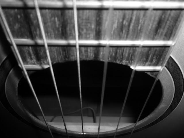 muziek op een druilerige dag fotografie