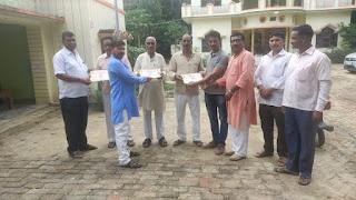 अखिल भारतीय ब्राह्मण महासभा ने वितरण किया अध्यक्ष प्रमाण पत्र | #NayaSaberaNetwork