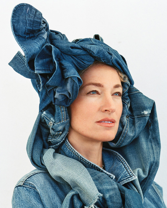 denim and denim, bruce weber photography for FRAME