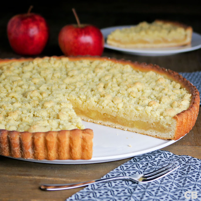 Recept: zo maak je zelf echte Limburgse appel-kruimelvlaai!