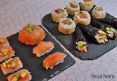 tutoriel pour faire des makis californiens, recette de makis californiens, temakis, dômes japonais, sushis, cuisine japonaise, recette japonaise, california rolls, patissi-patatta