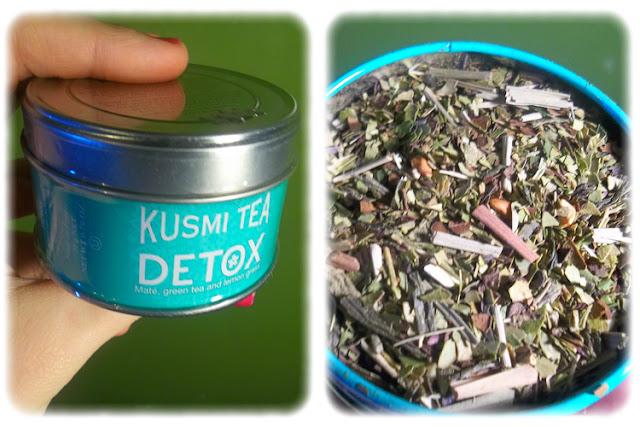 Boite de Thé Détox - Kusmi Tea - My Little Box - Janvier 2012