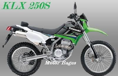 harga motor trail kawasaki baru lengkap