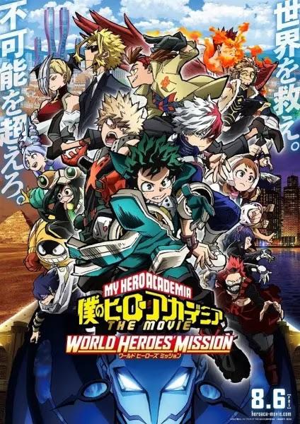 'Boku no Hero Academia the Movie 3: World Heroes' Mission' Revelado novo Vídeo Promocional
