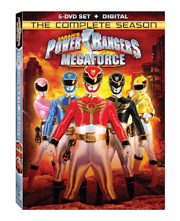 DVD Review - Power Rangers Megaforce: The Complete Season