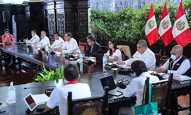 Congreso delega facultades al Gobierno por 45 días para enfrentar el coronavirus