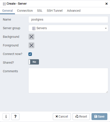 Menghubungkan PgAdmin4 dengan Postgres di Docker