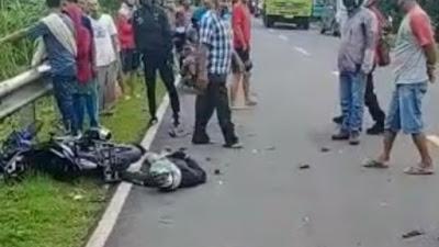 Kecelakaan Maut di Poros Bone-Maros, Satu Orang Tewas di Tempat