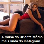 A musa do Oriente Médio mais linda do Instagram