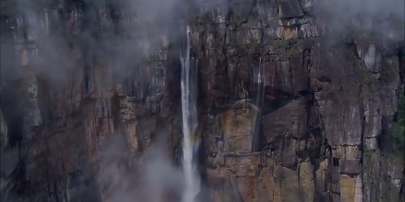 Angel Falls tourist place in south america
