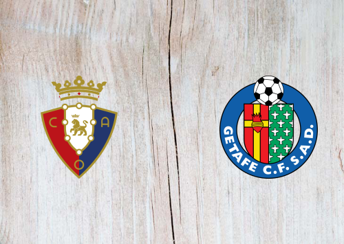 Osasuna vs Getafe -Highlights 05 July 2020