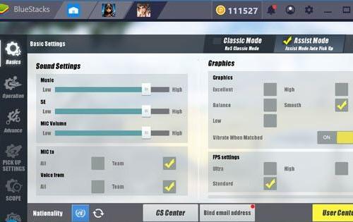 ROS có rất nhiều phiên bản chiến đội hình khác biệt để game thủ lựa chọn.