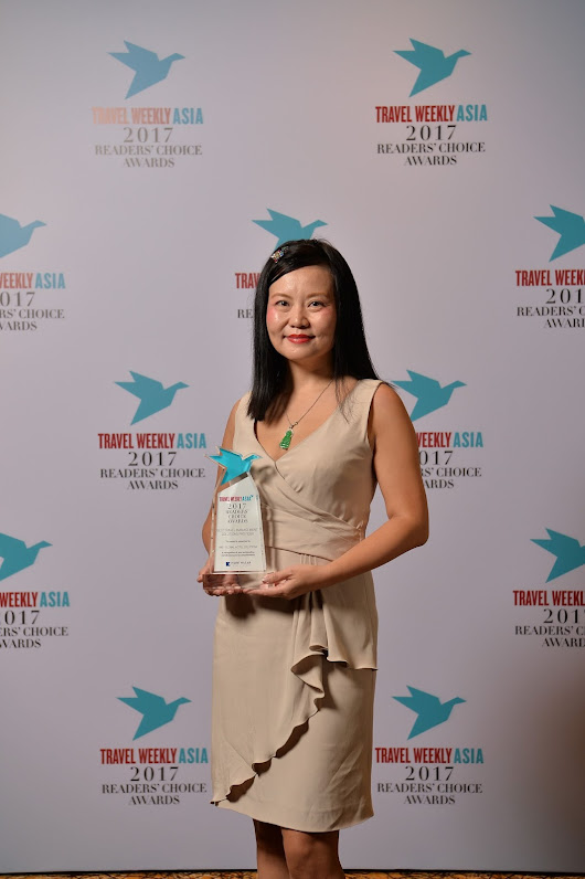 HRS wins Best Travel Management Solutions Provider in Travel Weekly Asia Readers' Choice Awards 2017