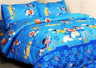 Contoh Seprei Motif Doraemon - Kamar Anak 2001611